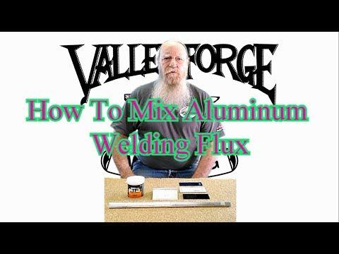 How To Mix Aluminum Welding Flux