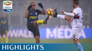 Inter - Genoa - 2-0 - Highlights - Giornata 16 - Serie A TIM 2016/17