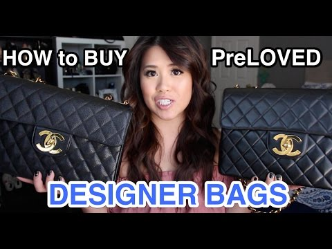 How to BUY: PREOWNED/ PRELOVED Designer Handbags