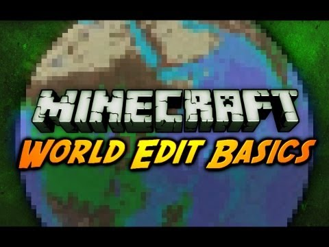 Minecraft Mod Review: WORLDEDIT BASICS!