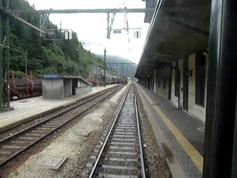 From Rome to Finland by train 8: Departure from Brennero (Italy/Austria Border).