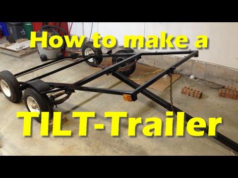 Making a DIY TILT-Trailer (Part 2)