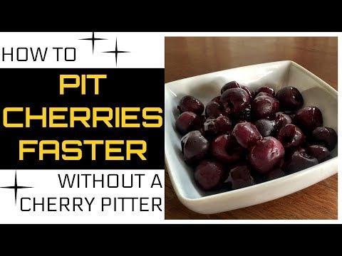 Life hack: Top 5 ways to pit cherries