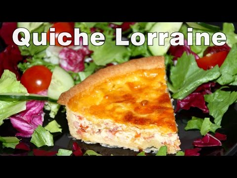 How to Make Quiche Lorraine (Ham) Recipe Video | HappyFoods