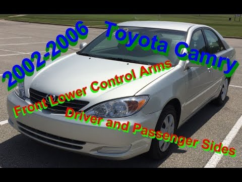 HowTo: 2002-2006 Toyota Camry Front Lower Control Arms
