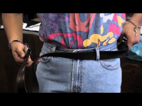 Does a Man Put a Belt on From the Left or Right Side of His Pa... : Belts, Corsets, Earrings & More