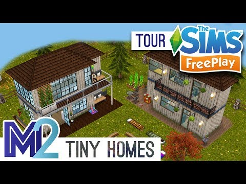 Sims FreePlay - Tiny Loft House Designs (Early Access)