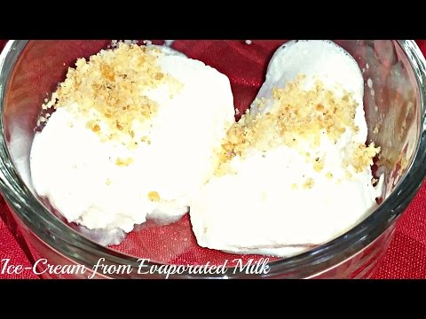 IceCream with Evaporated Milk