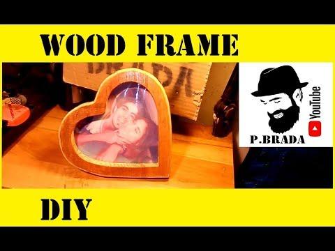 Wood frame DIY