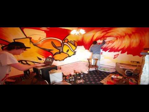 Paint Party Live - Lahinch Surf Lodge - Time-lapse
