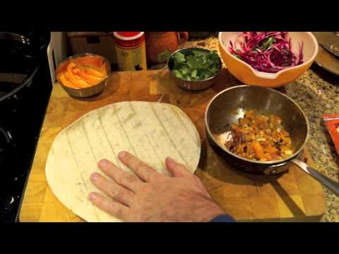 Chipotle Spiced Breakfast Burrito