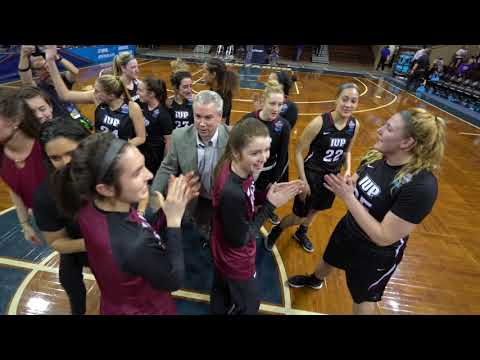 IUP Defeats Stonehill in the first round of the Elite Eight Tournament