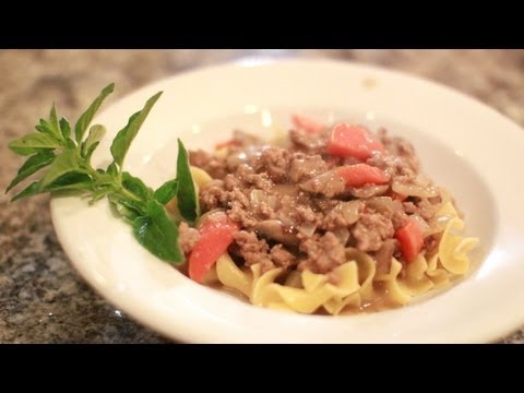 Turkey Stroganoff Recipe - Recipe for Healthy Stroganoff