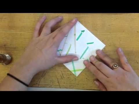 Origami Flying Crane - 5th Grade