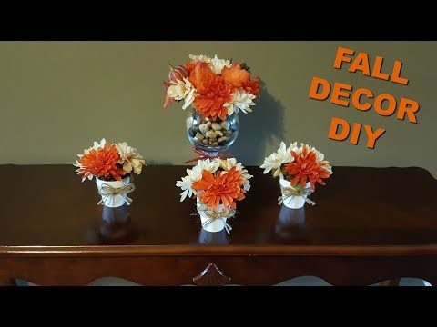 DIY HOME DECOR | FALL DOLLAR TREE DIY | FALL 2017