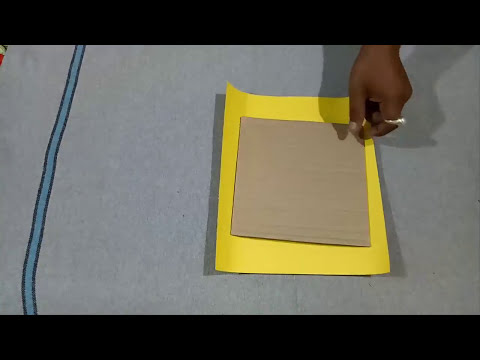 How To Make a Paper Photo Frame | Photo Frame Tutorial.. (LifeStyle Designs 5)