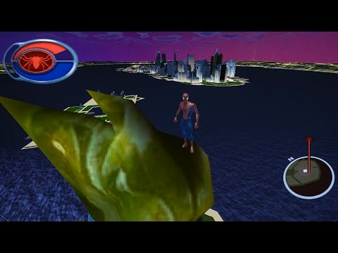 Spider-Man 2 The Game - Reaching LIBERTY ISLAND (Tutorial) | Dolphin Emulator 2K 21:9 Gameplay