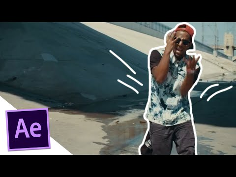 Hand Drawing Music Video Effect - After Effects Tutorial