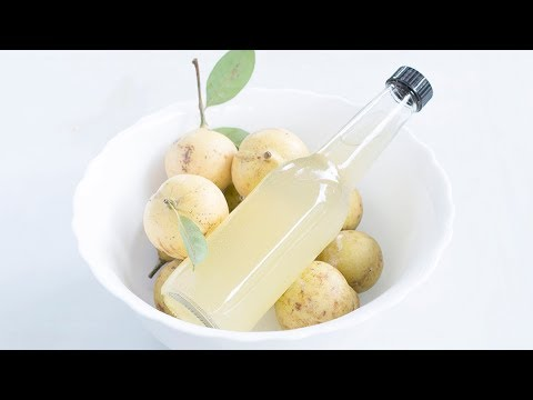 How to make Nutmeg Juice | Easiest way to juice Nutmeg