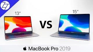 MacBook Pro 13 vs 15 (2019) - The ULTIMATE Comparison!