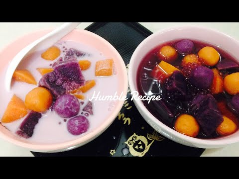 SWEET POTATO BALLS and SAGO TONG SUI - 2 Flavours