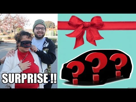 SURPRISING OUR MOM WITH A NEW CAR!! (EMOTIONAL)