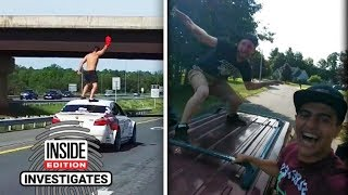 The Deadly Dangers of Car Surfing