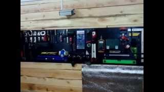 место хранения инструмента в гараже своими руками