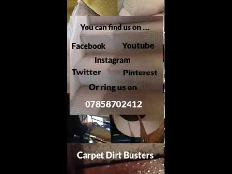 Carpet Dirt Busters! Rugs cleans £15-£20!