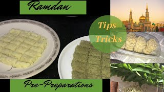 Ramadan Pre-preparations/Tips I Tricks-Taste Tours by Shabna hasker