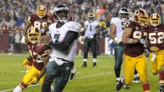 Michael Vick S Six Touchdown Game Versus The Redskins Week 10 2010