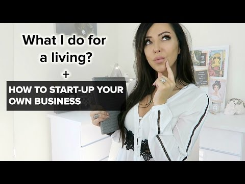 HOW I EARN MY MONEY + Help Setting Up Your Own Business