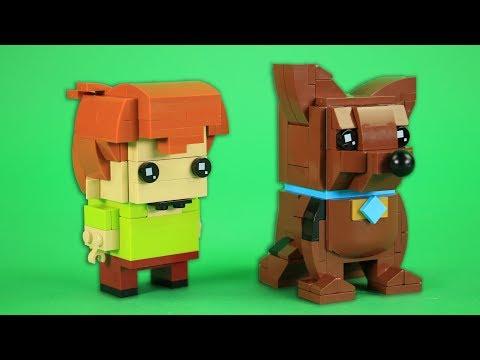How To Build LEGO Scooby Doo and Shaggy | BrickHeadz