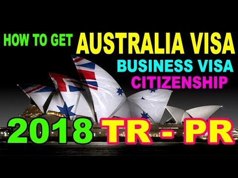 How To Apply Australia Visit Visa [Business Visa] [Citizenship] Urdu / Hindi 2018 By Premier Visa