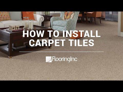 How to Install Carpet Tiles Made Easy- FlooringInc