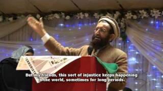 Viva Palestina in Urdu - Maulana Shams-ul Haq
