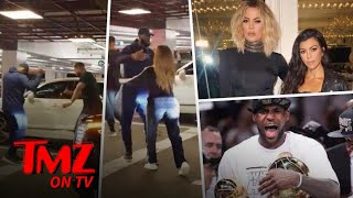 Khloe Clobbers LeBron!   TMZ TV