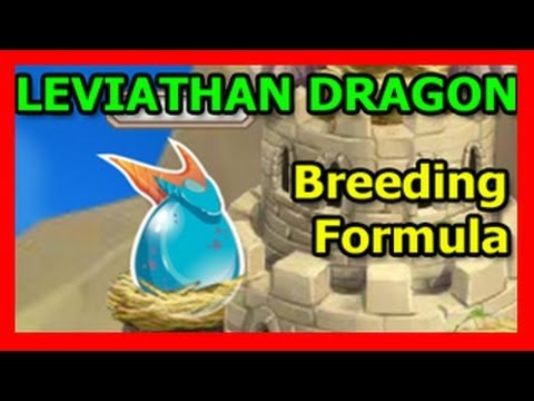 How To Breed LEVIATHAN Dragon In Dragon City on Facebook