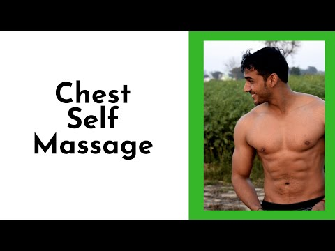 Chest Self Massage - Chest Pain - Nashville, TN Massage - Stop Stress