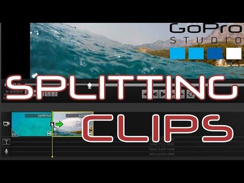 How To Split Clips in GoPro Studio