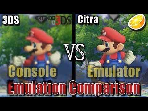 Download Nintendo 3DS vs Citra - Part 1 (Emulator vs Console