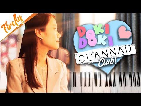 Doki Doki Literature Club + Clannad Dango Daikazoku OST - Rollercoaster Feeling Piano Edition