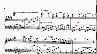 Trinity Tcl Piano 20152017 Grade 8 B5 Heino Kaski Nacht Am Seestrand Op34 No1 Sheet Music
