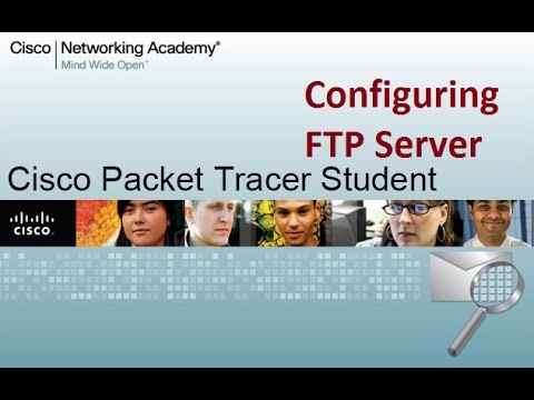 how to configure ftp server in cisco packet tracer