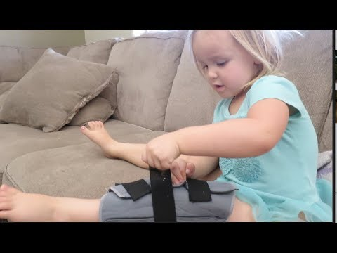 TODDLER KNEE RECOVERY