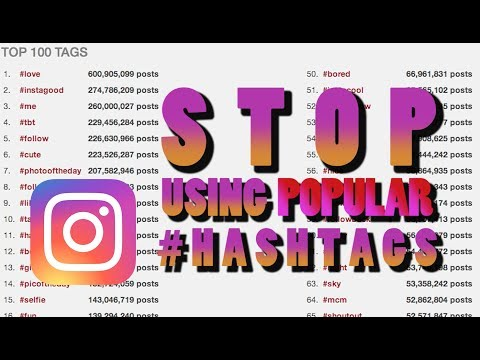Stop Using Popular Hashtags! Instead DO THIS on Instagram!