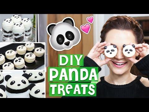DIY PANDA TREATS!