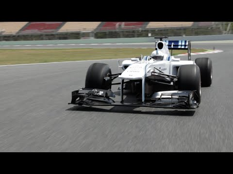 How to drive an F1 car (eventually)... Sun man gets behind the wheel of a Williams F1 car