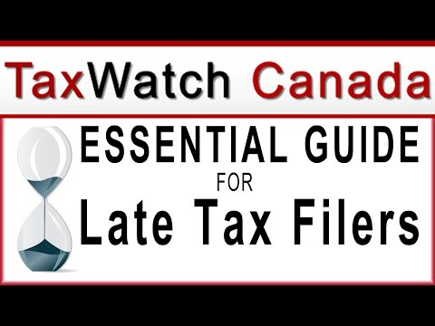 Back Taxes Business and Income Tax Late Filing Canada Expert Help