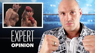 Tyson Fury Criticizes Famous Boxing Scenes | Expert Opinion | Men's Health